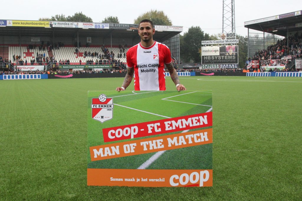 De Peruaan werd uitgeroepen tot COOP Man of the Match
